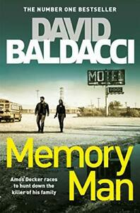 Memory Man (Amos Decker series) by Baldacci, David, NEW Book, FREE & FAST Delive