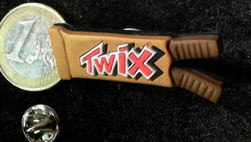 Lebensmittel Pin Badge Twix