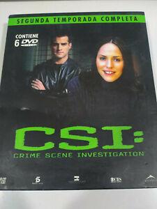 Csi-Le-Vegas-Seconda-Stagione-Completa-Cassetta-Grande-6-X-DVD-Spagnolo-Inglese