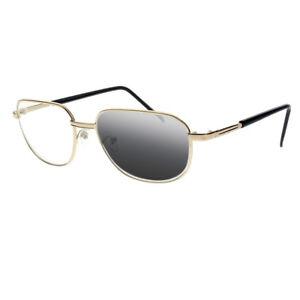 fa38dc7c0b Image is loading Bifocal-Transition-Photochromic-Metal-Gold-Aviator-Reading- Glasses-