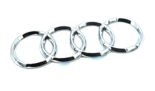 Genuino Nuevo Audi Anillos Emblema de Inicio Placa Trasera Para A8 2002-2010 TDI FSI QUATTRO