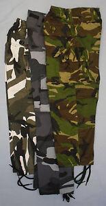 Garcon-Enfant-Camouflage-Camouflage-Pantalon-Pantalon-Vert-Gris-Bleu-Poches
