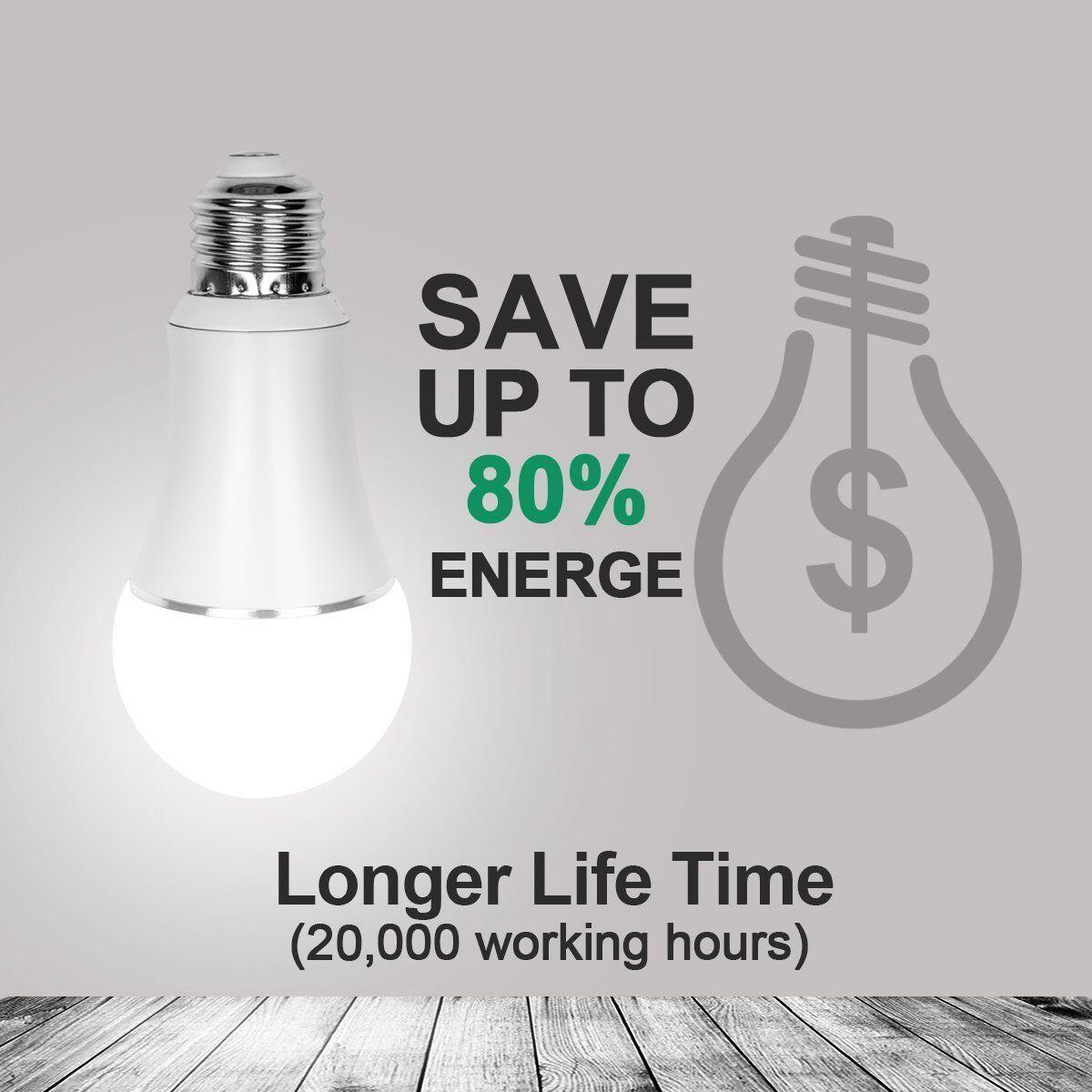 LED Smart Wifi Remote Control Light Bulb B22/E27 For Echo Alexa Google Home