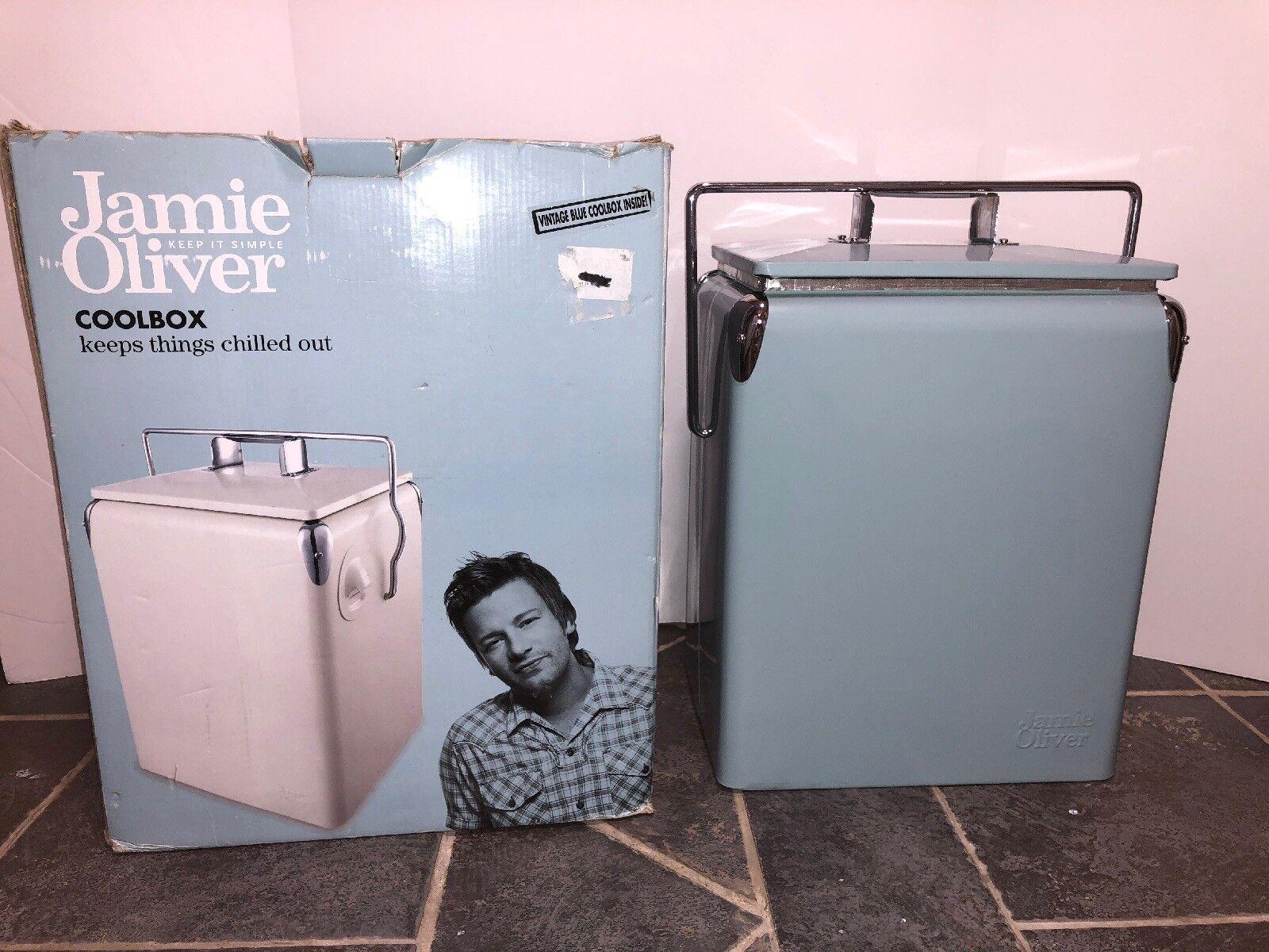 Jamie Oliver hágalo sencillo, Azul Vintage Estilo Mobicool  ver Fotos