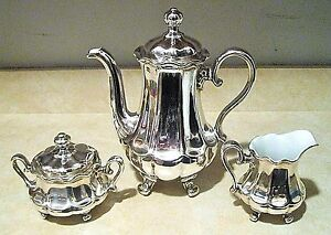 Image is loading WMF-GERMANY-ART-NOUVEAU-5-PC-SILVER-PLATE- : silver plated coffee set - pezcame.com