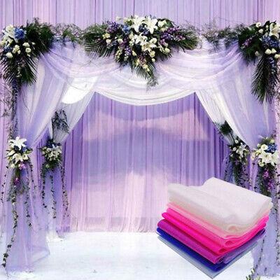 6inches Organza Sheer Fabric Wedding