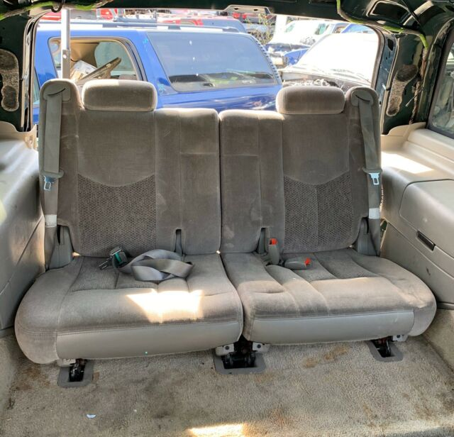 00-06 Chevy Tahoe GMC Yukon Third Row Seats Grey Pewter