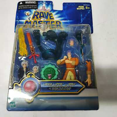 Hasbro Rave Master Action Figures LANCE LLIPINE VS HRRU SET