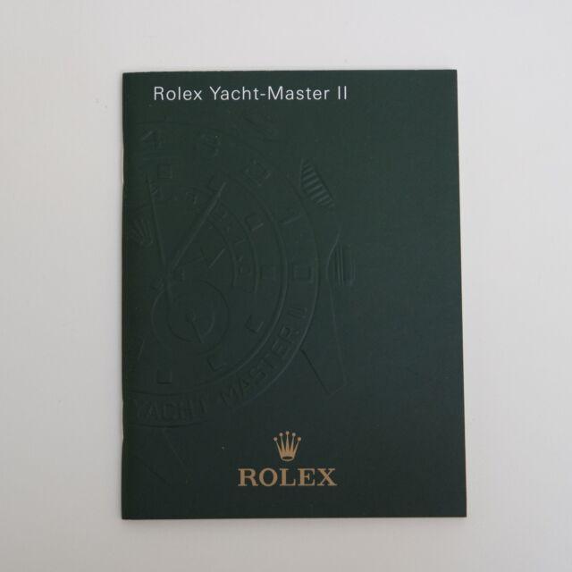 ROLEX YATCH-MASTER II 2 BOOKLET ROLEX LIBRETTO ITALIANO ANNO 2012