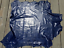 thumbnail 5 - lambskin sheepskin leather hide skin Buttersoft Dark Blue Purple Sprays Print