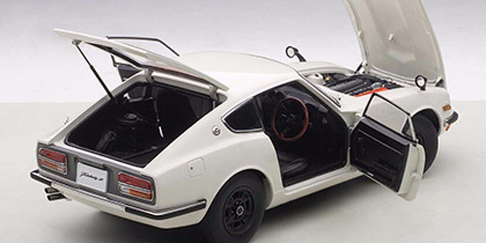 Autoart 1969 Nissan Fairlady Z432 biancao en escala 1 18. Nueva Versión en Stock