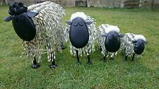 LARGE METAL SHEEP SCULPTURE GARDEN ORNAMENT RETAIL DISPLAY FARMERS GIFTS