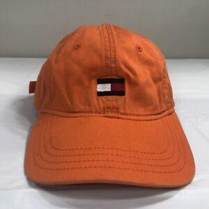 b520c87b VTG Tommy Hilfiger Hat Strapback Dad Cap Spell Out Flag Logo 90s ...