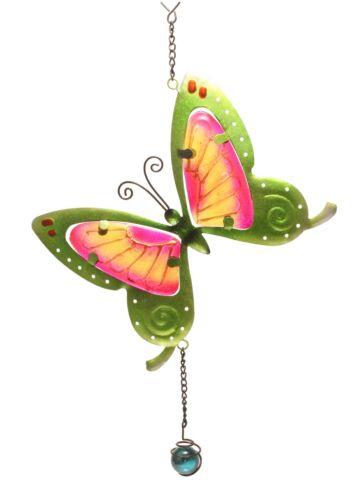 Fensterbild  Wandbild Suncatcher Schmetterling grün Fensterbilder von GlasXpert