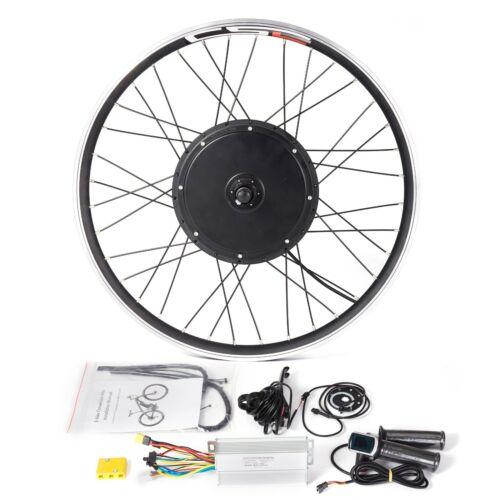Avant roue arrière Vélo électrique Kit de conversion 24 26 29 700 C 36 V 250 W 1500 W 48 V