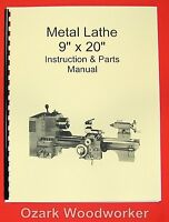 9x20 Metal Lathe Parts Manual-jet,enco,grizzly,msc,asian 0776