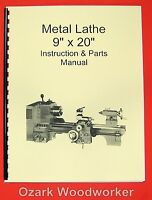 9x20 Metal Lathe Parts Manual-jet,enco,grizzly,msc,asian 0776