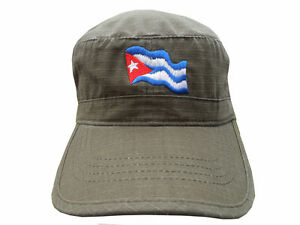 La imagen se está cargando ATLANTIS-sombrero-QUE-GUEVARA-CUBA-gorra -EJERCITO-oliva- 6be9fa91976