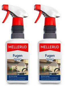 17,90€/ L MELLERUD Fugen Reiniger 2x 500 ml Fugenreiniger Schmutz Spray