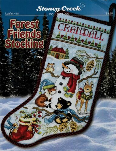 Forest Friends Stocking by Stoney Creek LFT418 pattern