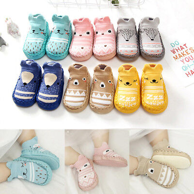 Fashion Kids Baby Infant Newborn Casual Soft Sole Cute Socks Shoes Prewalkera