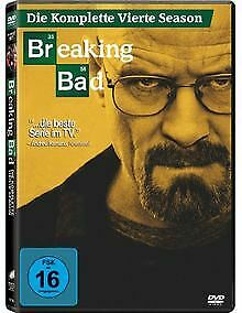 Breaking-Bad-Die-komplette-vierte-Season-4-DVDs-von-A-DVD-Zustand-gut