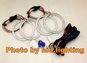 BMW-Angel-Eye-Halo-Ring-Light-LED-SMD-E46-White-2D-2-Door-Coupe-2DR-Facelift