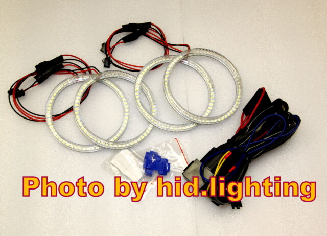 BMW Angel Eye Halo Ring Light LED SMD E46 White 2D 2 Door Coupe 2DR Facelift