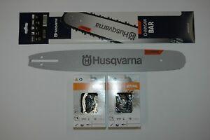 """Schwert passend für Husqvarna 235 35cm 3//8/"""" 52TG 1,3mm Führungsschiene guide bar"""