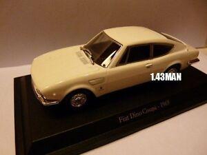 Voiture-1-43-Hachette-Norev-FIAT-DINO-coupe-1969