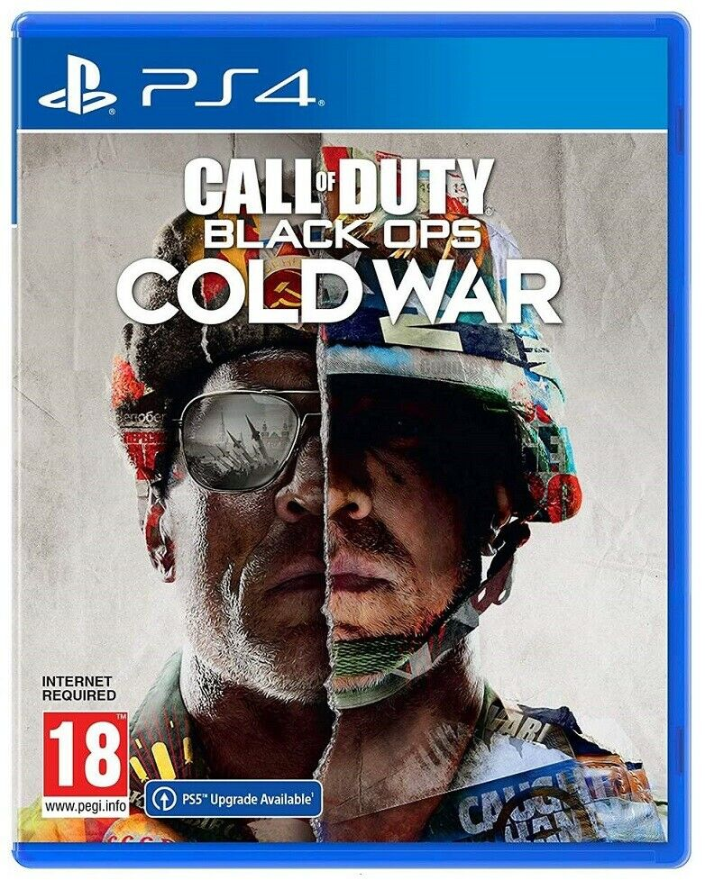 videogiochi e console: CALL OF DUTY BLACK OPS COLD WAR PS4 GIOCO ITALIANO PLAY STATION 4 PAL DVD PS5