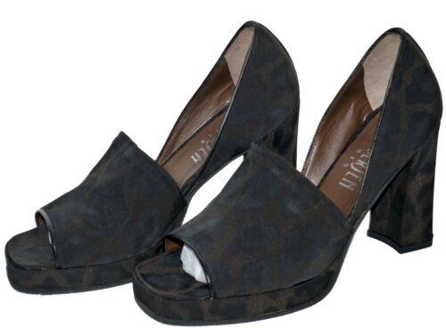 bedruckter Schuh Luc Sp aus Peeptoe Nip aus 125 mit BerjenLeopard £ Peeptoe Peeptoe Print 34ALR5j