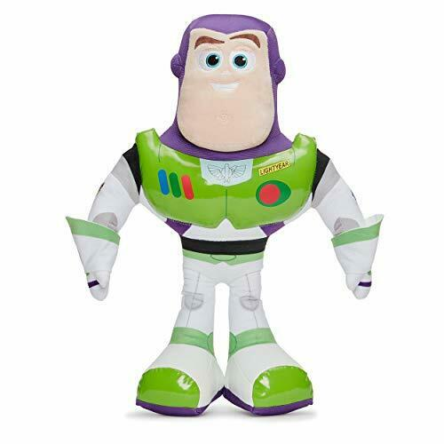 Disney Pixar 37274 Toy Story 4 Buzz Lightyear poupée souple 50 cm Boîte Cadeau vert