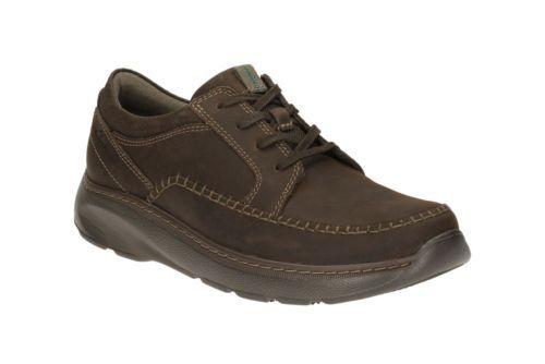 Nuevo Zapatos Oxford Cuero Charton Casuales Cordones Hombre Marrón Clarks Con pq1Xpwr