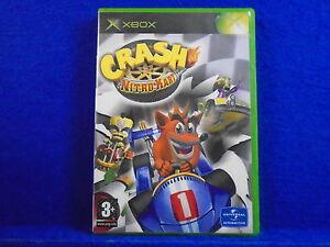 xbox crash nitro kart crash bandicoot racing game microsoft pal uk