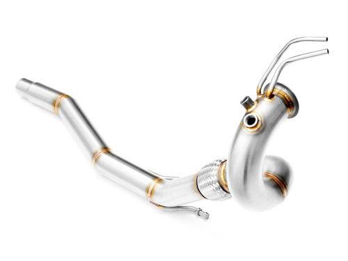 FILTRO antiparticolato downpipe Tubo di ricambio VW AUDI SEAT 1.6 2.0 TDI DPF OFF SCARICO SPORTIVO