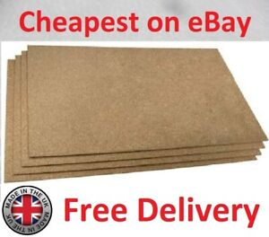 Large Cork Sheet Automotive Vehicle Gasket Material 500mm x 1000mm x 5mm Thick