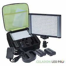 Radiant 280-LED CRI 95+ Bi-Color Video Camera and On-Camera Light Kit