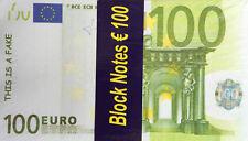 Notizblock Memoblock 500€ Geldschein Banknote Design