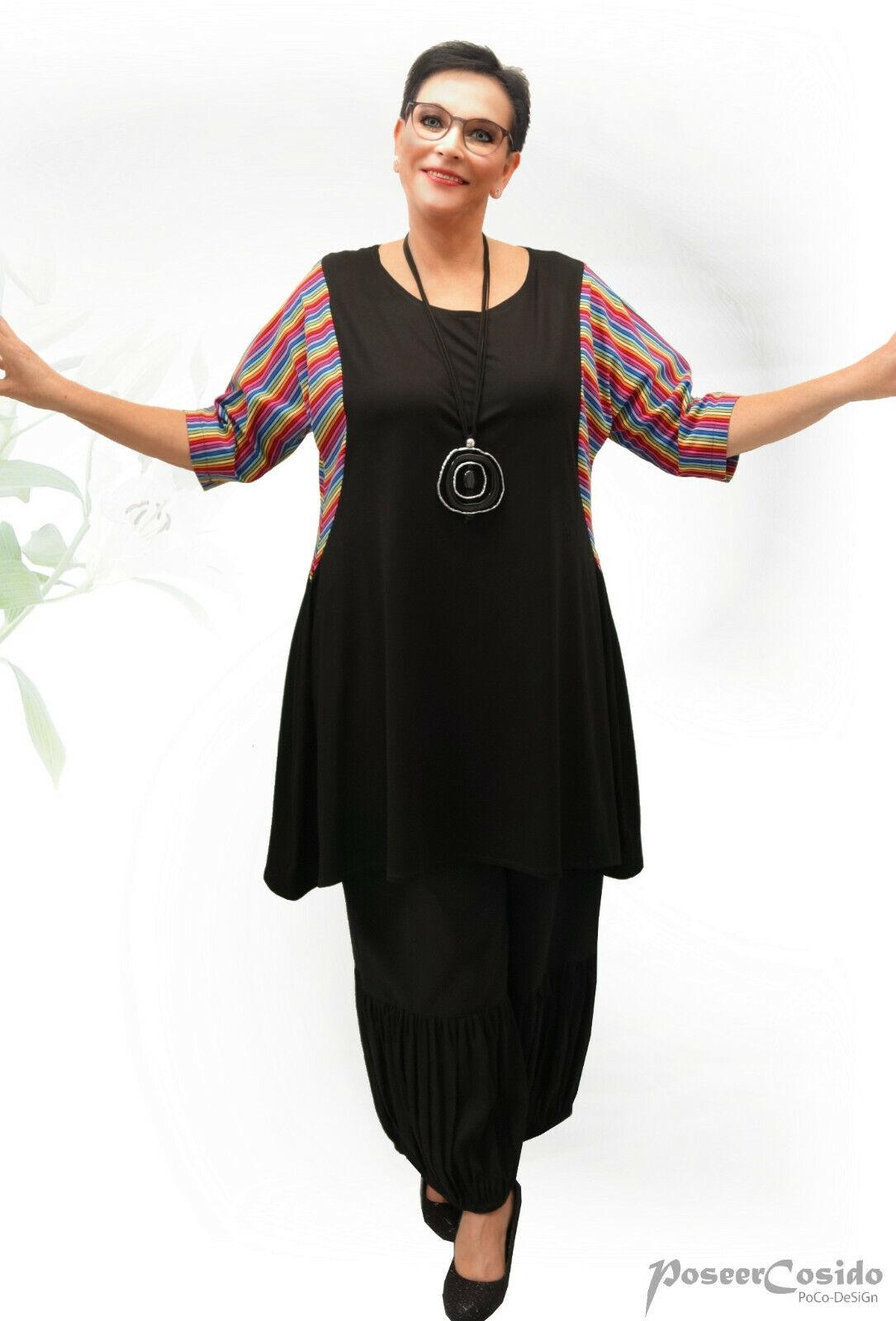 PoCo DeSiGn LAGENLOOK Tunika Long-Shirt  44-46-48-50-52-54-56  L-XL-XXL-XXXL