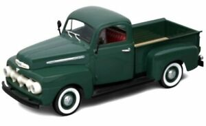 FORD F-1 Pick up - 1951 - darkgreen - WELLY 1:18