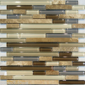 Image is loading Sample-Marble-Stone-amp-Brown-Beige-Cream-Linear-