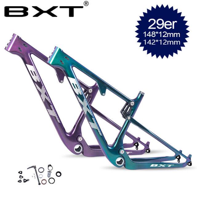 27.5er 29er Carbon Full Suspension Frame 148*12mm Boost MTB Mountain Bike Frames