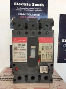 GE Spectra Circuit Breaker SELA36AT0100 100 Amp 600 Volt 3 Pole W// 100 Amp Trip