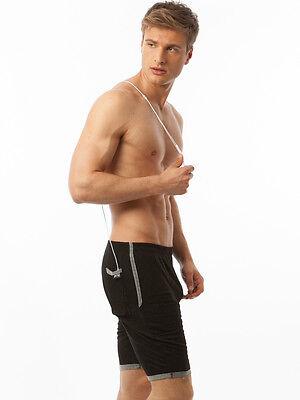 N2N Gym Boy Slim Short GB11 (Black & Denim)
