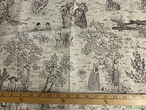 20-034-L-x-54-034-W-034-New-Stoney-Creek-034-Valley-Forge-Fabrics-Toile-Fabric-Pillows-Curtain