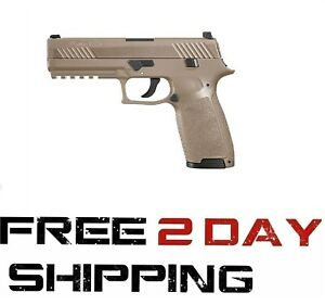 SIG-Sauer-P320-CO2-Pistol-177-CAL-Air-Gun-Pellet-Gun-w-Tan-Metal-Slide