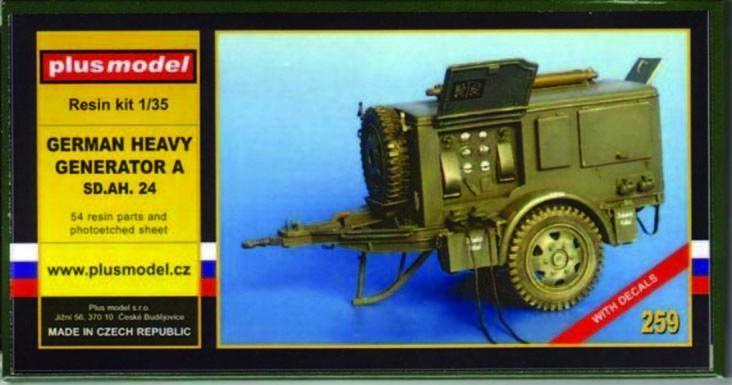 Plus Model 259 - 1 3 5 Resina Kit Tedesco Hochleistungs-Generator A