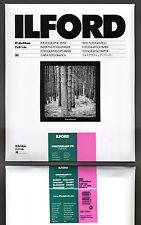 Carta fotografica bianco e nero Ilford 18x24 Multigrade FB baritata lucida 25f