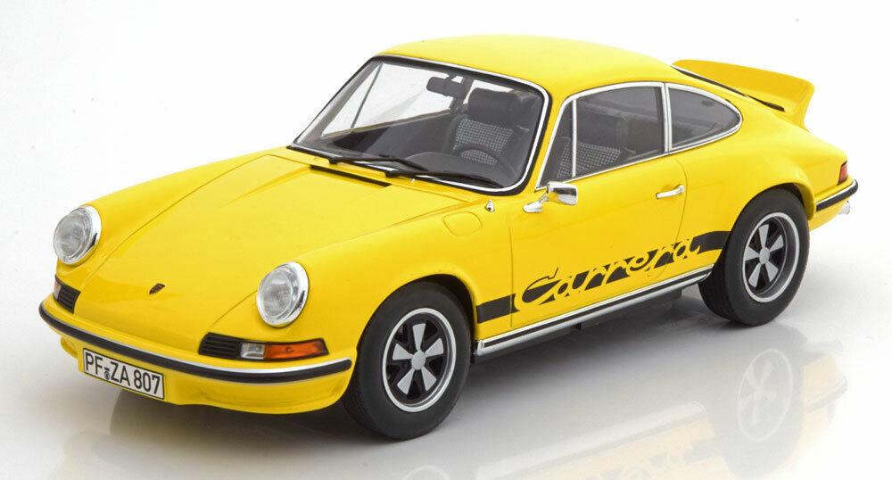 1 18 norev Porsche 911 RS 2.7 Touring 1973 giallo nero